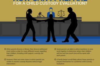 How can I prepare for a child custody evaluation?
